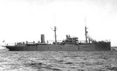 The repair ship QUARNARO.</br>