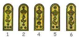 1. Admiral of the Fleet.<br/>