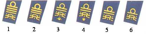 1. Admiral of the Fleet</br>