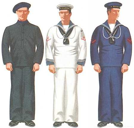 navy seaman uniform